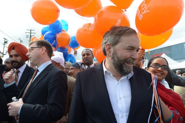 Mulcair and Dix