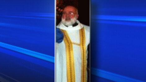 Former pastor James (Jim) Boudreau, 67, is seen in this undated image taken from video.