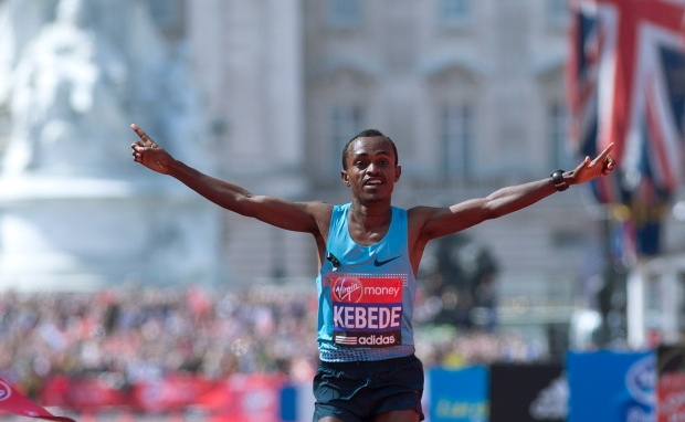 Tsegaye Kebede wins men's London Marathon