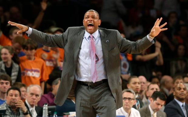 Celtics coach Doc Rivers