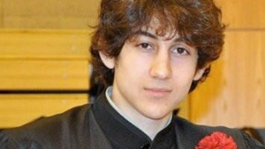Dzhokhar Tsarnaev, 19, is seen in this undated photo. (The Lowell Sun and Robin Young)