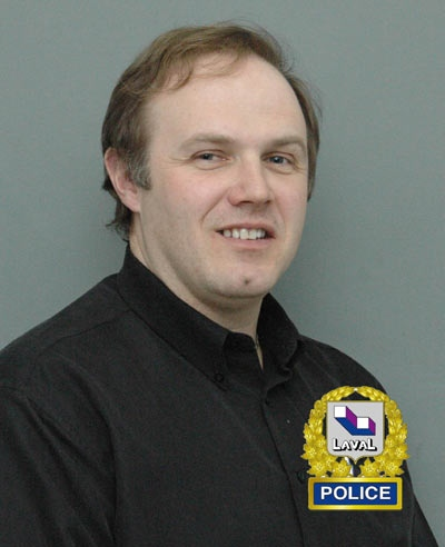 Const. Daniel Tessier (Photo courtesty Laval Police)
