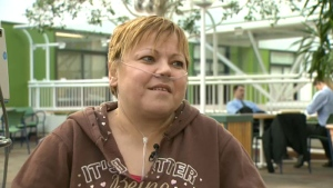 Lorna Langer, transplant