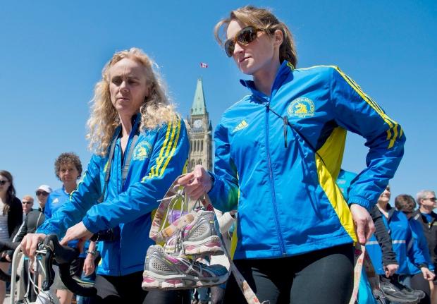 Ottawa runners support Boston