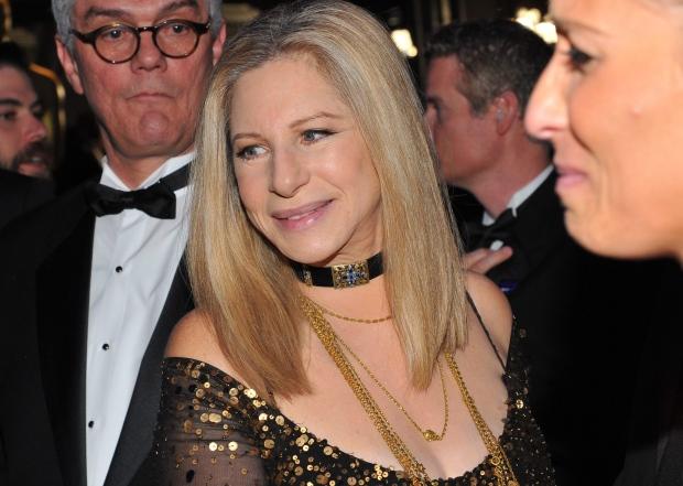 Barbra Streisand honoured at awards gala