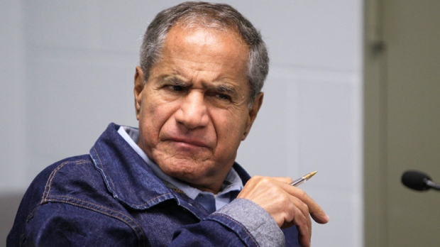 Sirhan Sirhan, now 66, convicted of assassinating Sen. Robert F. Kennedy in 1968, is seen during a Board of Parole Suitability Hearing at the Pleasant Valley State Prison in Coalinga, Calif., Wednesday, March 2, 2011. (AP / Ben Margot)