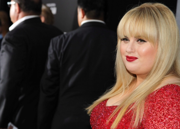 Actress Rebel Wilson arrives at the L.A. premiere of 'Pain and Gain' at the TCL Theatre in Hollywood, Calif., on Monday, April 22, 2013. (Matt Sayles / Invision)