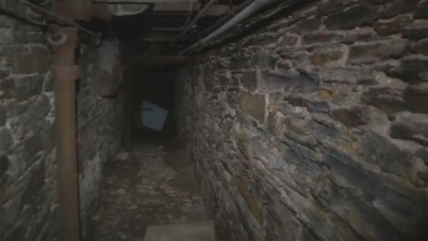 Long tunnels are hidden beneath some city streets in downtown Halifax. (CTV Atlantic)