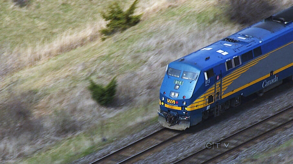 Government officials are calling for increased rail security after an alleged plot to attack a passenger train was foiled by the RCMP.