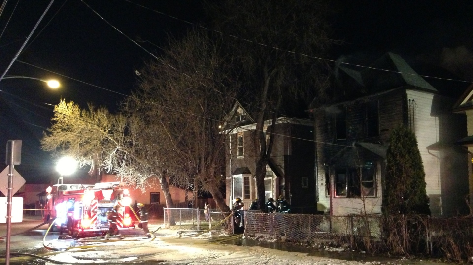 Fire destroys hits Alexander Avenue home