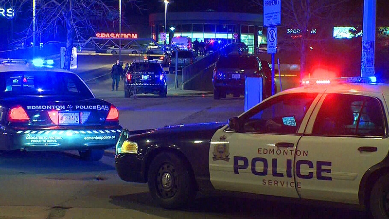 Edmonton police are searching for multiple suspects in connection to a late night fatal shooting near Londonderry Mall Tuesday, April 23.