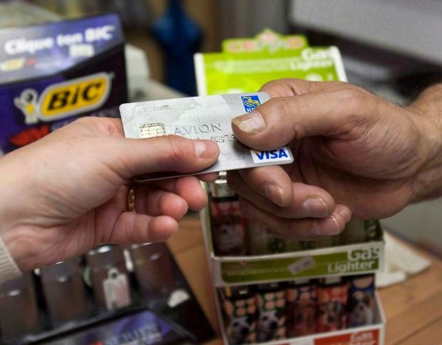 credit card, debt