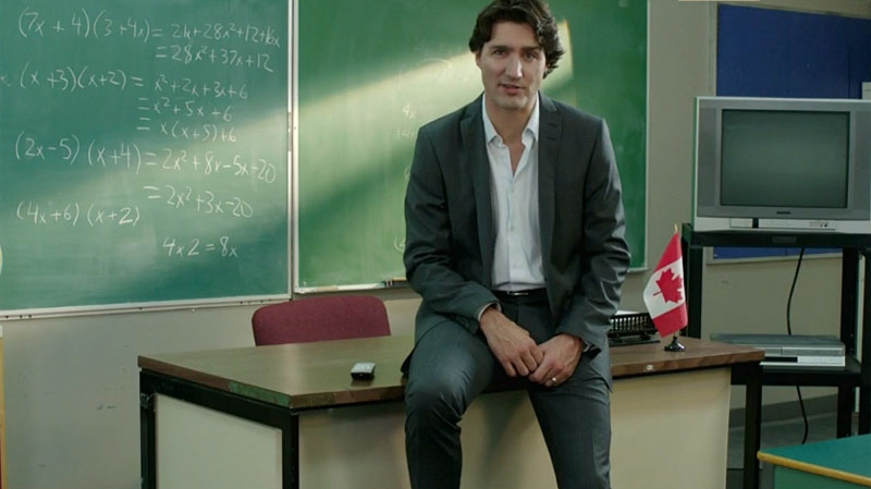 trudeau says i m proud to be a in new ad ctv news