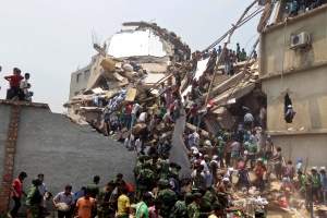 Deadly Bangladesh building collapse