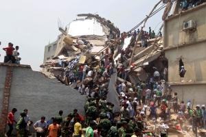 Deadly Bangladesh building collapse