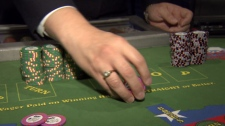 Passing chips between players is against the rules in B.C. casinos. March 4, 2011. (CTV)