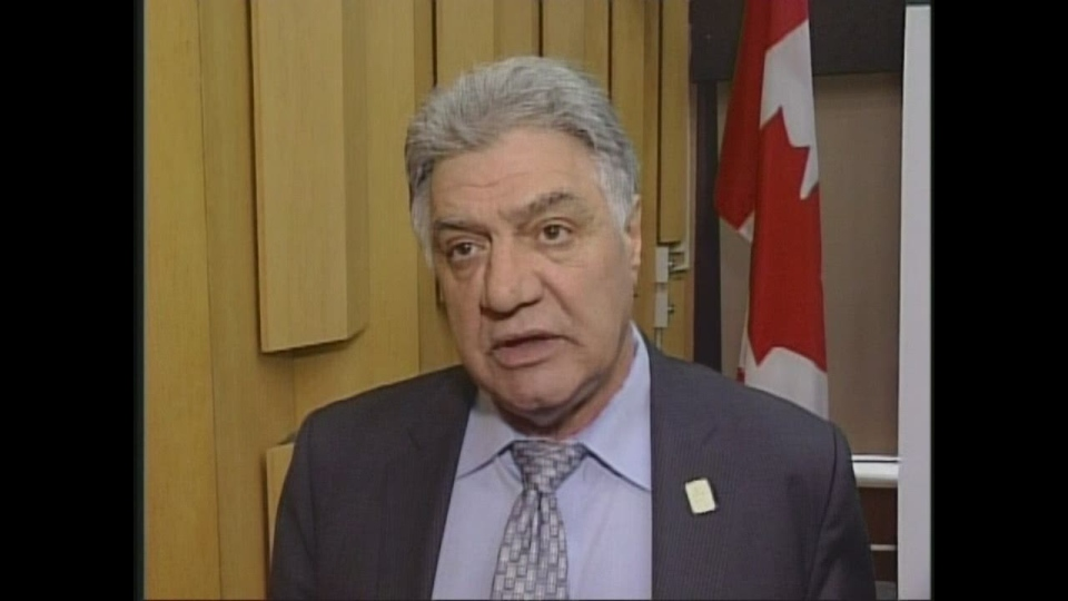 London Mayor Joe Fontana reacts to the Trinity Global  decision.