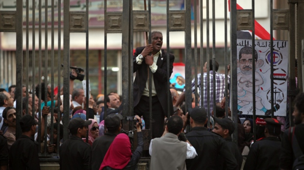 Egypt parliament pushes judicial law