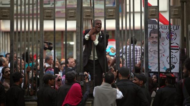 Egypt parliament pushes judicial law