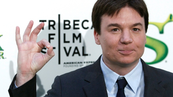 Mike Myers attends the premiere of 'Shrek Forever After' during the 2010 Tribeca Film Festival in New York, on Wednesday, April 21, 2010. (AP / Peter Kramer)