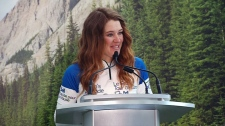 Clara Hughes to bike across Canada for Let's Talk