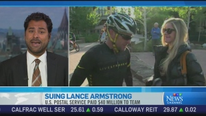 CTV News Channel: Association with Armstrong