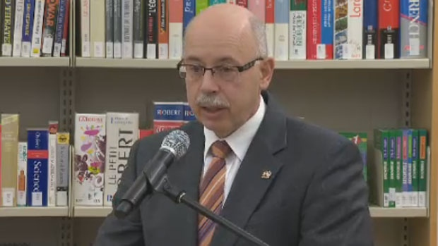 Nova Scotia Justice Minister announces cyberbullying legislation on April 25, 2013. (CTV Atlantic)