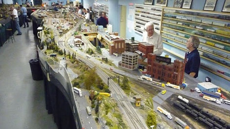 This model railway may have to be demolished by November 2012.