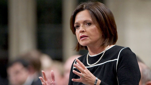 Conservative Minister Josee Verner answers a question in Ottawa on Feb. 11, 2011. (Sean Kilpatrick / THE CANADIAN PRESS)