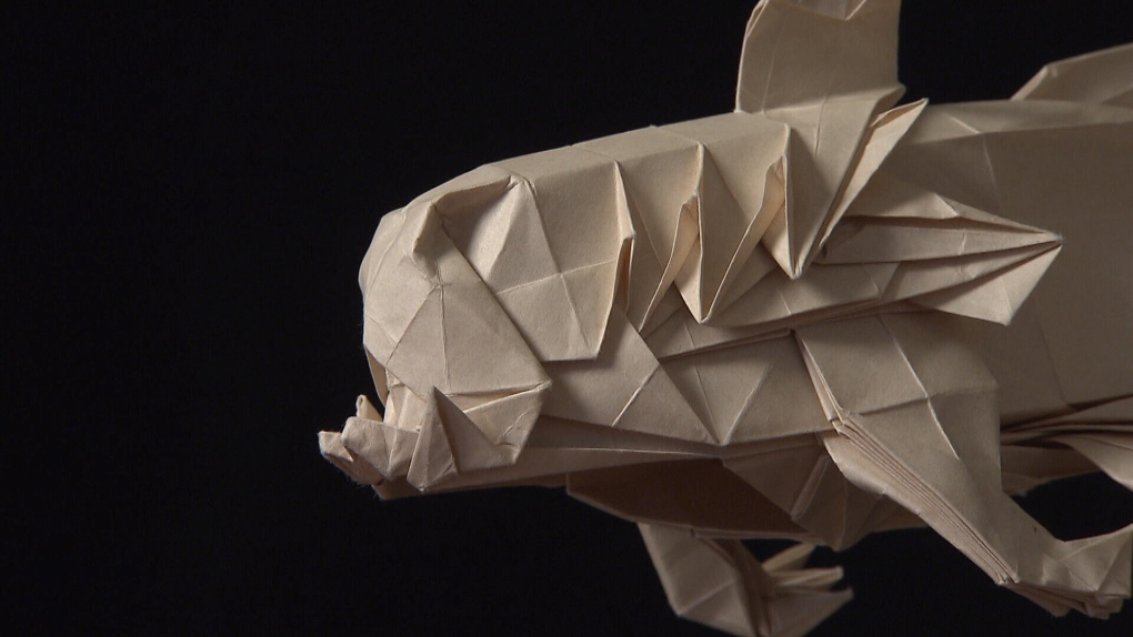 Vancouver artist folds intricate origami masterpieces ... - photo#36