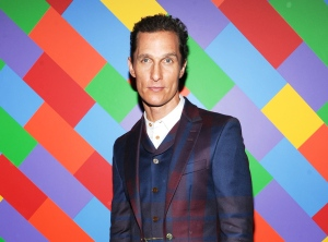 Actor Matthew McConaughey is shown at the premiere of 'Mud' hosted by The Cinema Society with FIJI Water & Levi's at the Museum of Modern Art in New York. McConaughey stars in the film with Reese Witherspoon. (AP Photo/Invision/Evan Agostini)