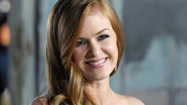 Actress Isla Fisher arrives at the premiere of the animated feature film 'Rango' in Los Angeles on Monday, Feb. 14, 2011. (AP / Dan Steinberg)