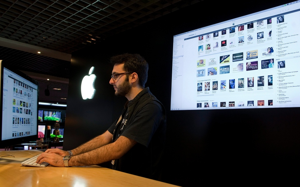 iTunes launched a similar campaign for Superstorm Sandy in 2012. raising nearly $2.5 million in donations. (AP Photo/Andre Penner)