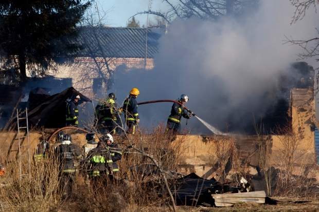 Fire sweeps through Russian psychiatric hospital