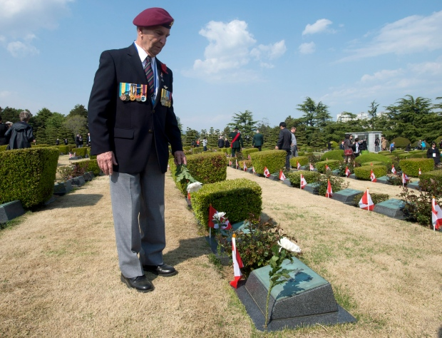 Canadian vets honour Korean War dead