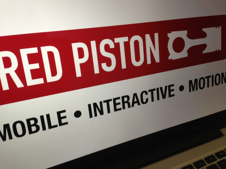 Red Piston sign