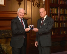 Prince Philip receives he Order of Canada