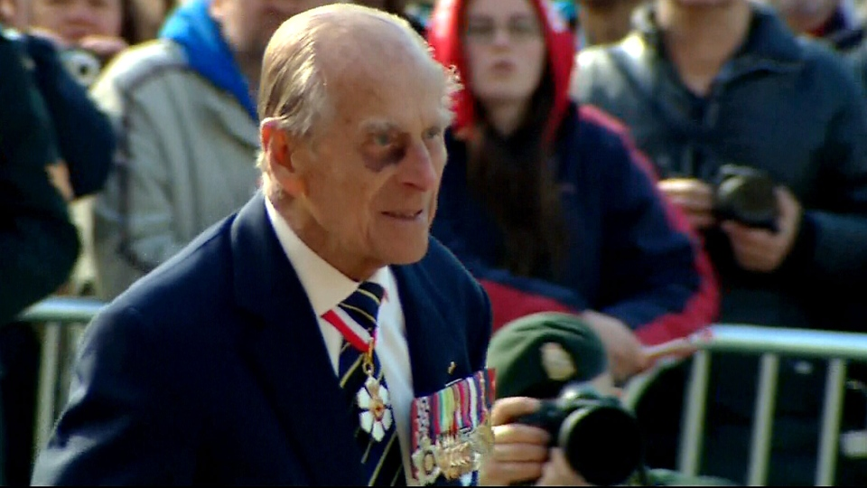 unwell prince philip misses reception will attend service