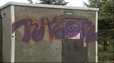 Brian Kachur was known to his friends as Razor, and this was his tag.