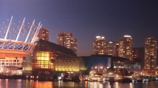 An artist's rendering of plans for a $450-million casino complex near BC Place. (CTV)
