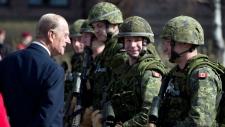 Prince Philip honours Canadian military battalion