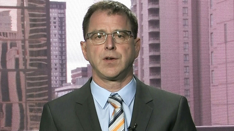 B.C. NDP Leader Adrian Dix appears on CTV's Question Period on Sunday, April 28, 2013.