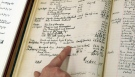 Fitzgerald's ledger shows he earned less than $2K for 'Gatsby'