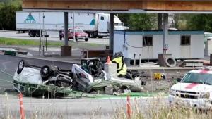 CTV News Channel: Fatal crash in Surrey, B.C.