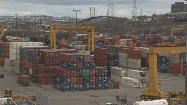 The port of Halifax is seen in this undated file photo.