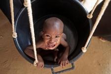 Somalia famine child