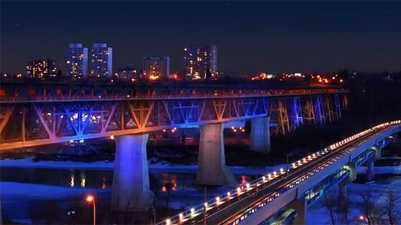 Light the Bridge, High Level Bridge