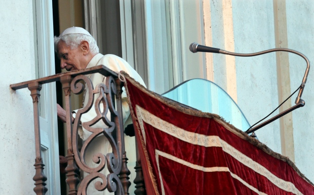 Benedict XVI on Feb. 28, 2013.