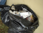 As of June 8, people in Sudbury can only throw out two bags of garbage each week. Residents are reminded they must place garbage in a secure, tied bag. (File)