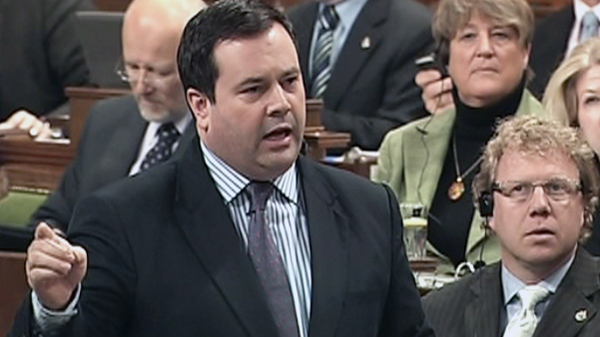Minister of Citizenship, Immigration and Multiculturalism Jason Kenney rises during Question Period in the House of Commons on Parliament Hill in Ottawa, Wednesday, March 9, 2011.
